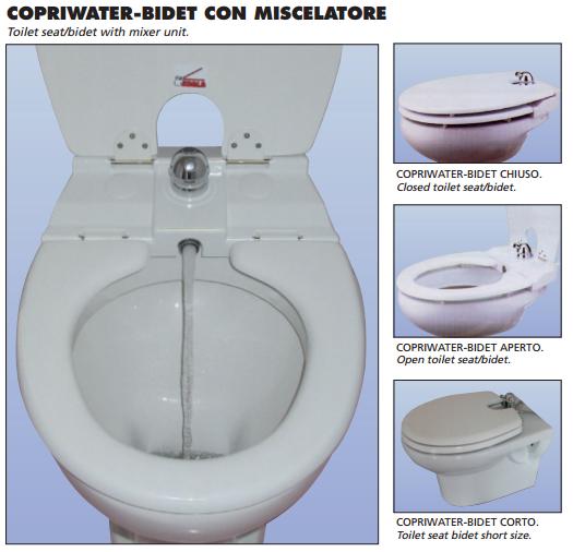 Sedile Wc Con Miscelatore.Copriwatershop It By Design Bagno Due Roma