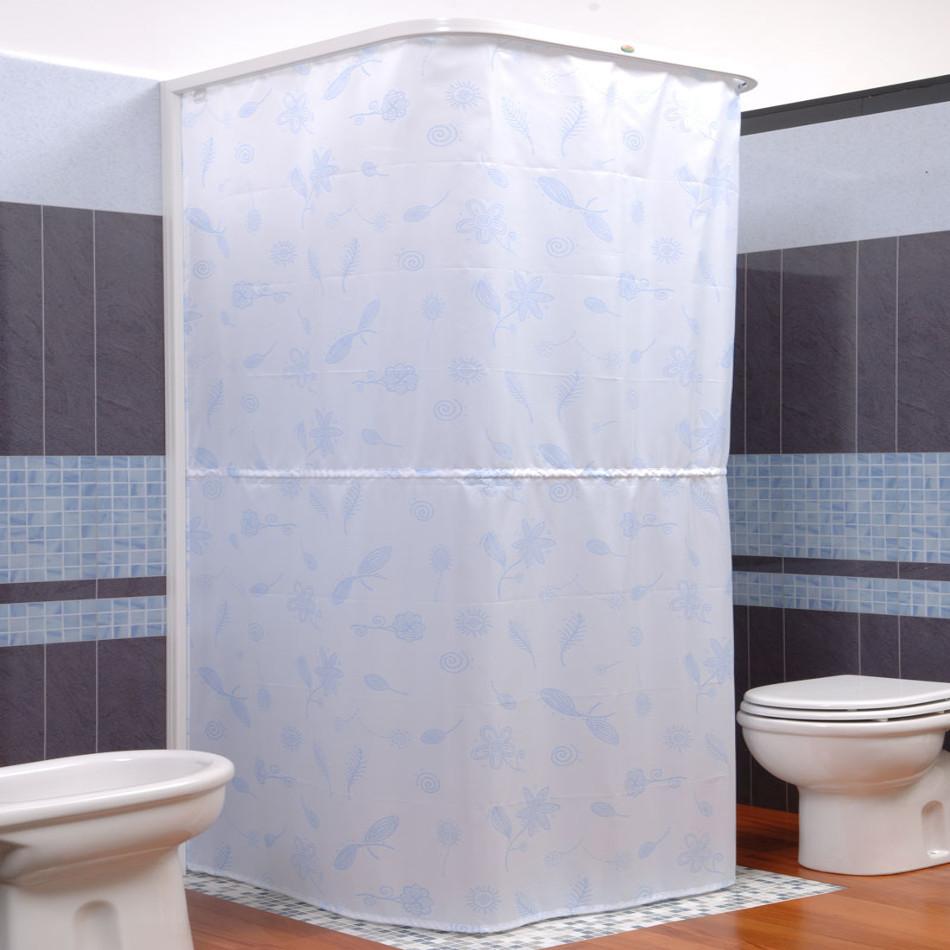 By design bagno due roma - Tenda doccia design ...